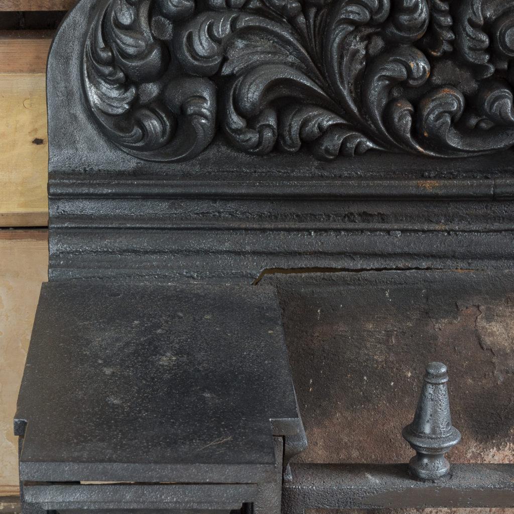 Regency cast iron hob grate,-114995