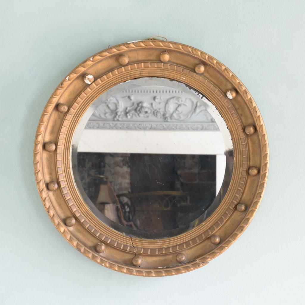 Regency style wall mirror,-0