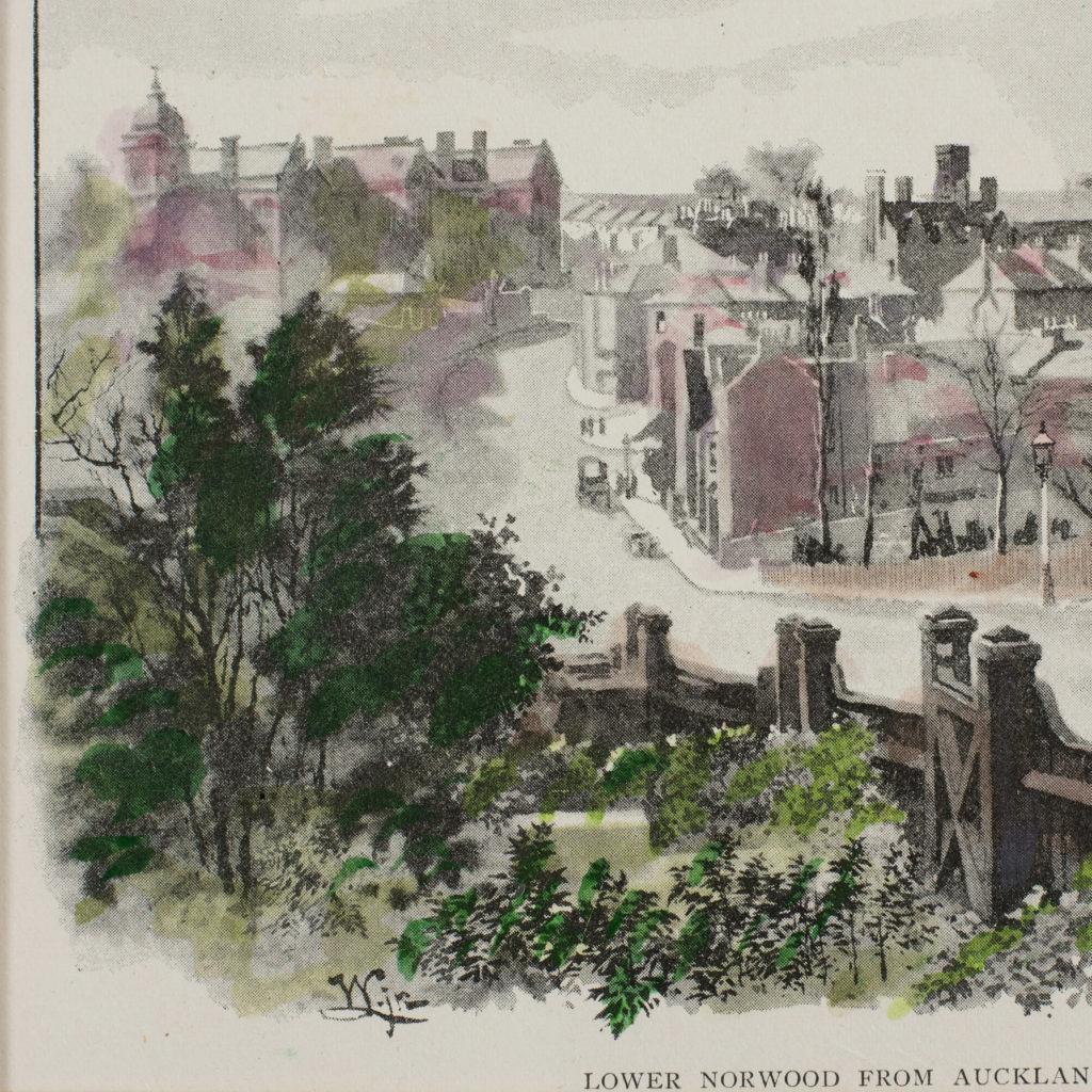 London City Suburbs, original half-tone prints published 1893-114745