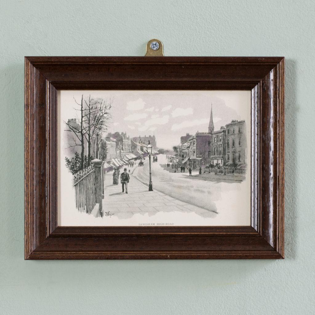 London City Suburbs, original half-tone prints published 1893-0