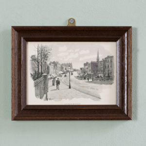 London City Suburbs, original half-tone prints published 1893-0