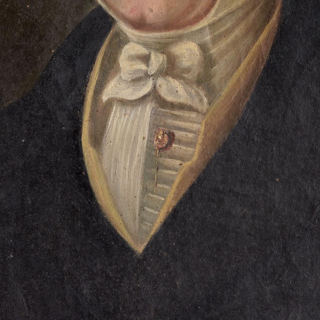 English School, portrait of a gentleman,-114464