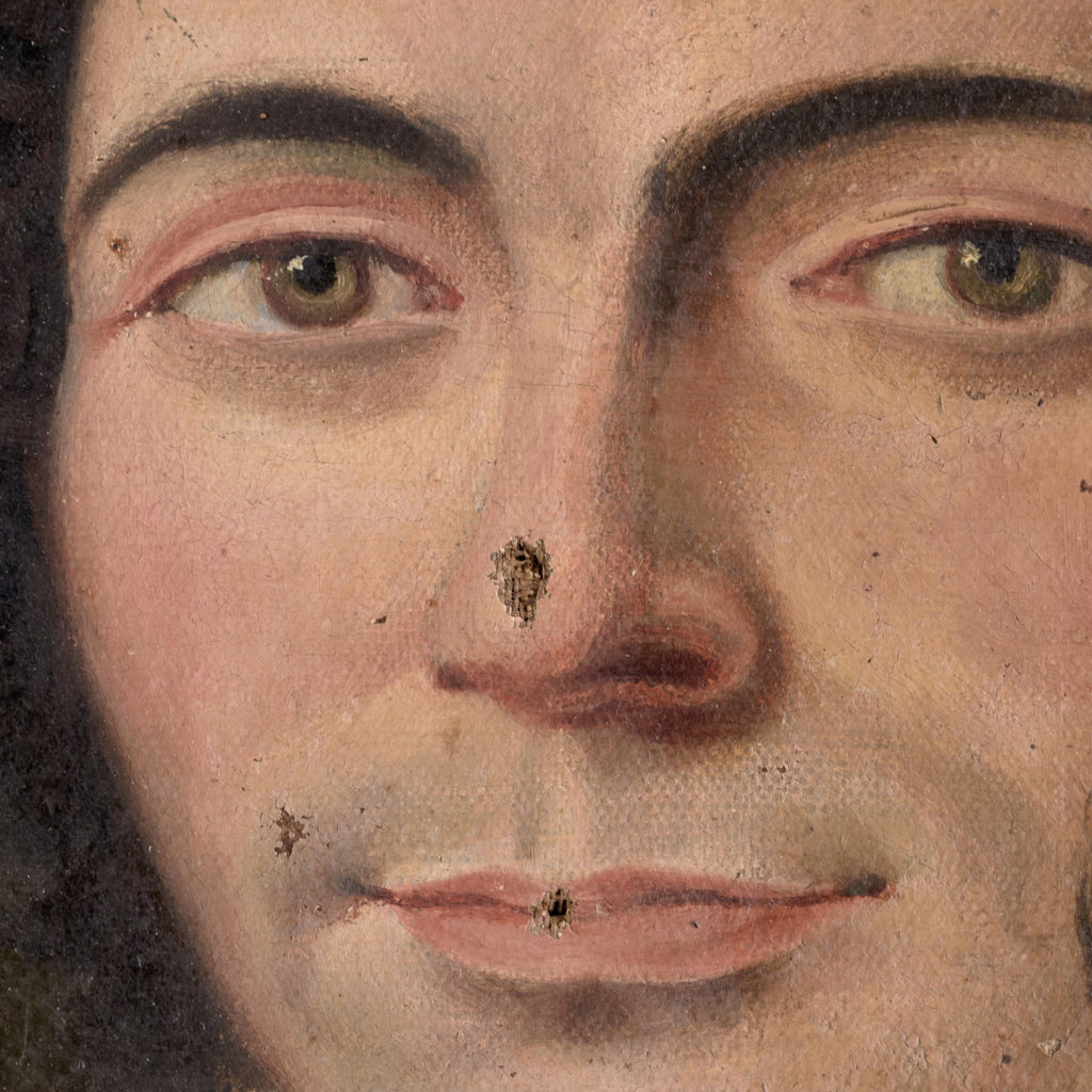 English School, portrait of a gentleman,-114461