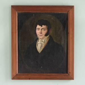 English School, portrait of a gentleman,-0