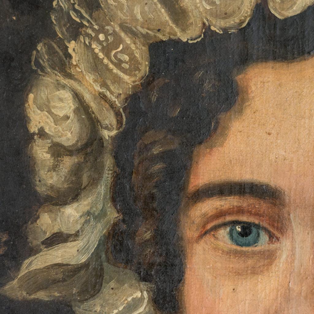 English School, portrait of a lady,-114587