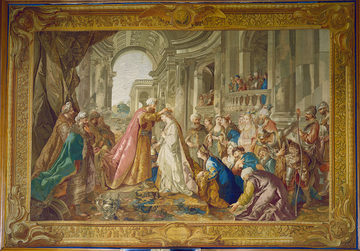 The Original Composition Of The Tapestry