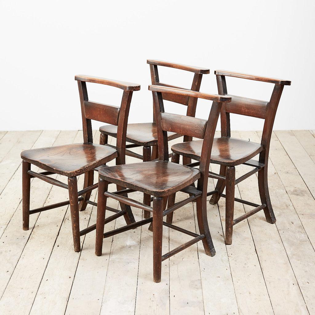 G.F Bodley chapel chair,-0