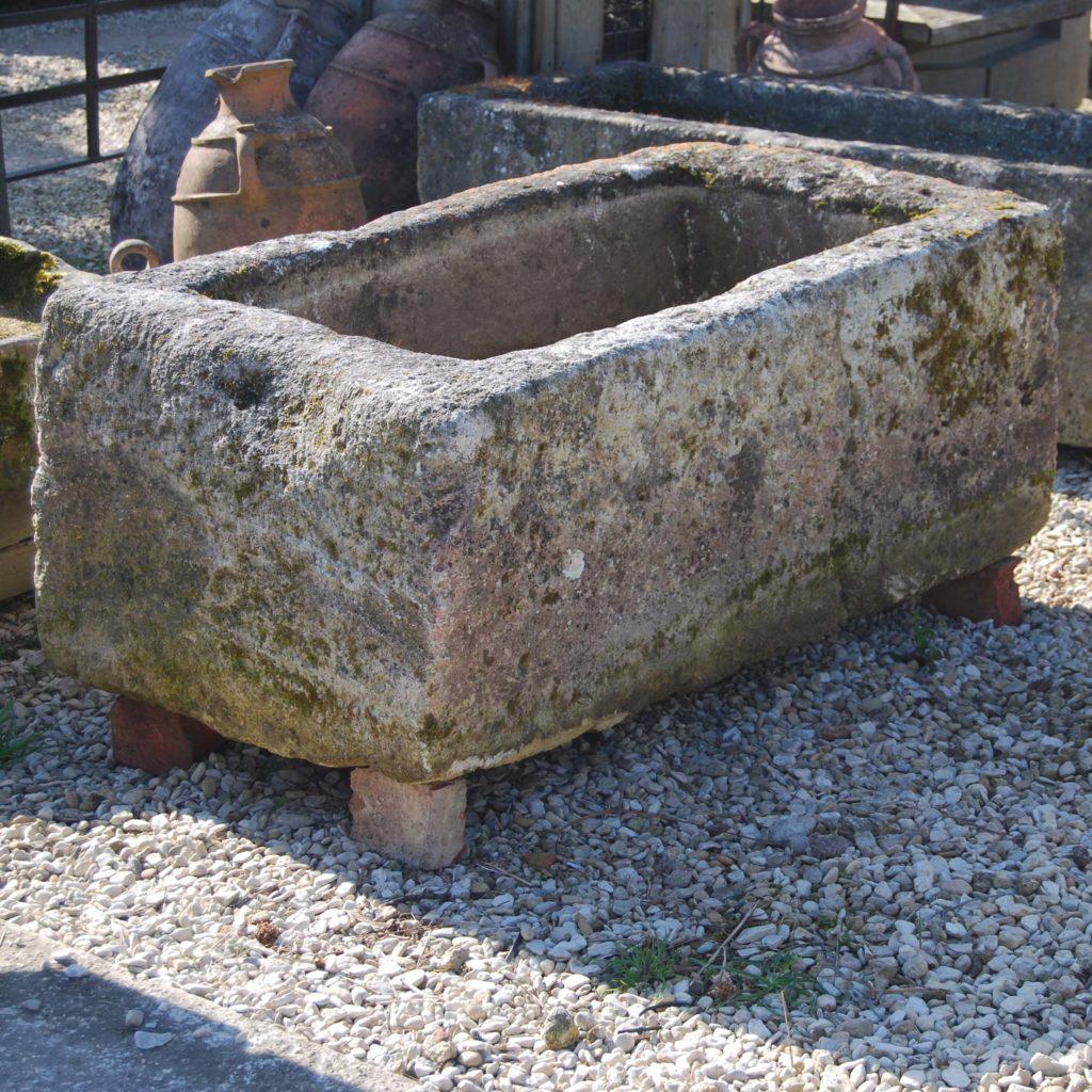 An old French limestone cistern-0
