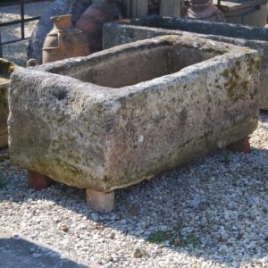 An old French limestone cistern-0