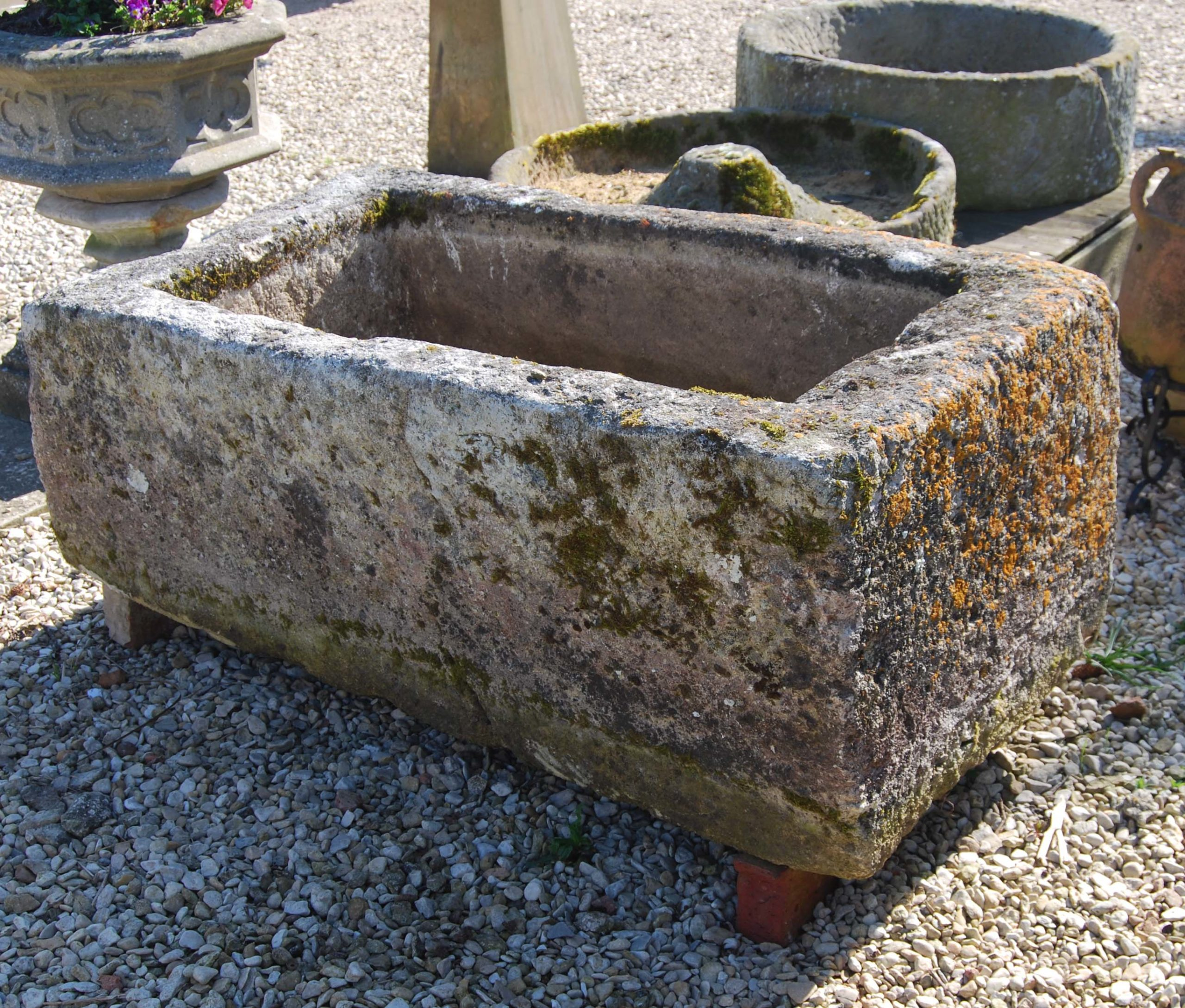 An old French limestone cistern-115463