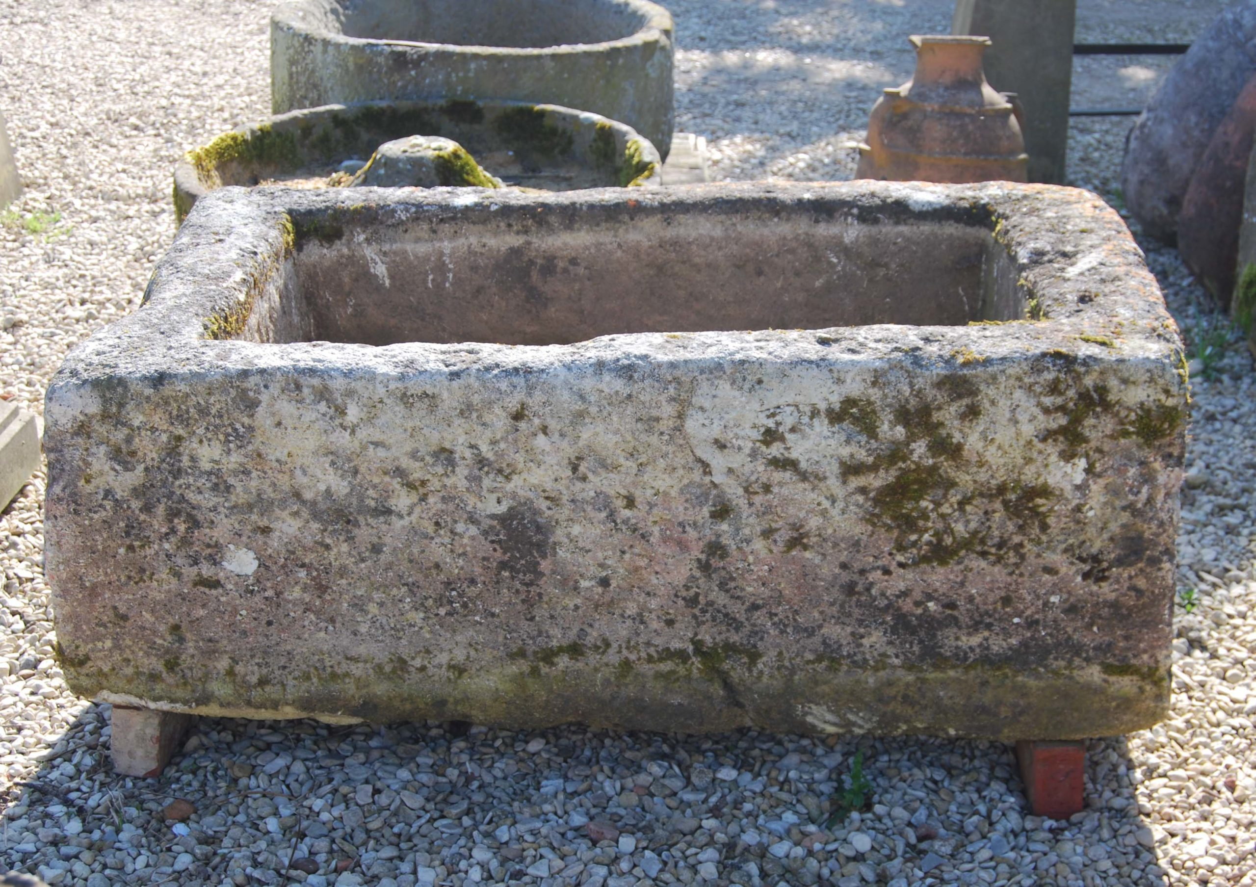 An old French limestone cistern-115462