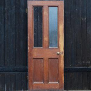 part glaszed door