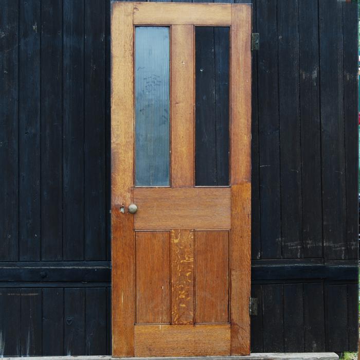 part glazed door