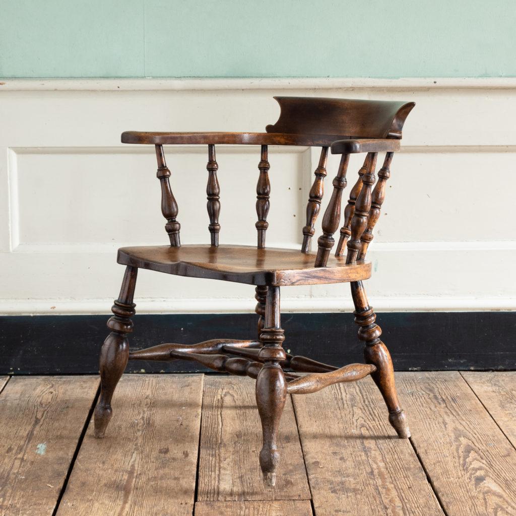 Smoker's Bow Windsor armchair,-115538