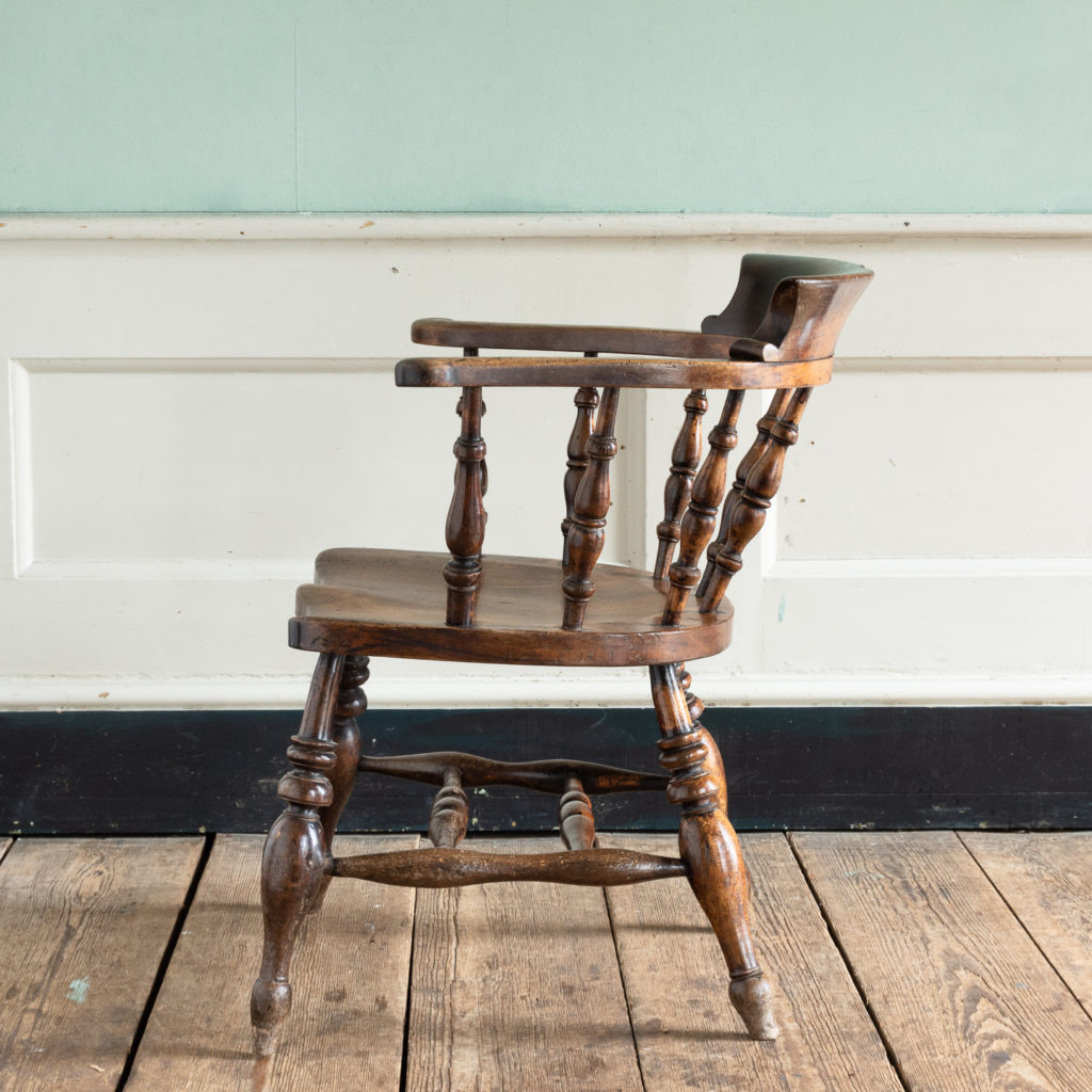 Smoker's Bow Windsor armchair,-115543