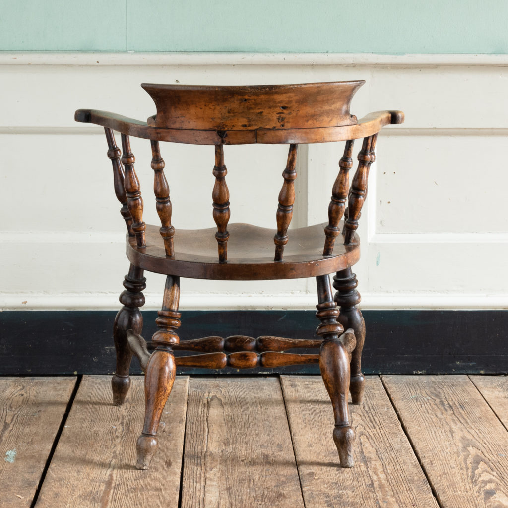 Smoker's Bow Windsor armchair,-115536
