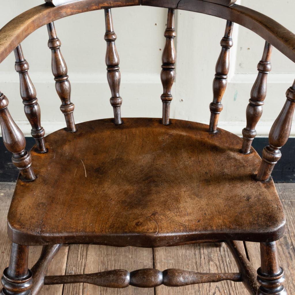 Smoker's Bow Windsor armchair,-115546