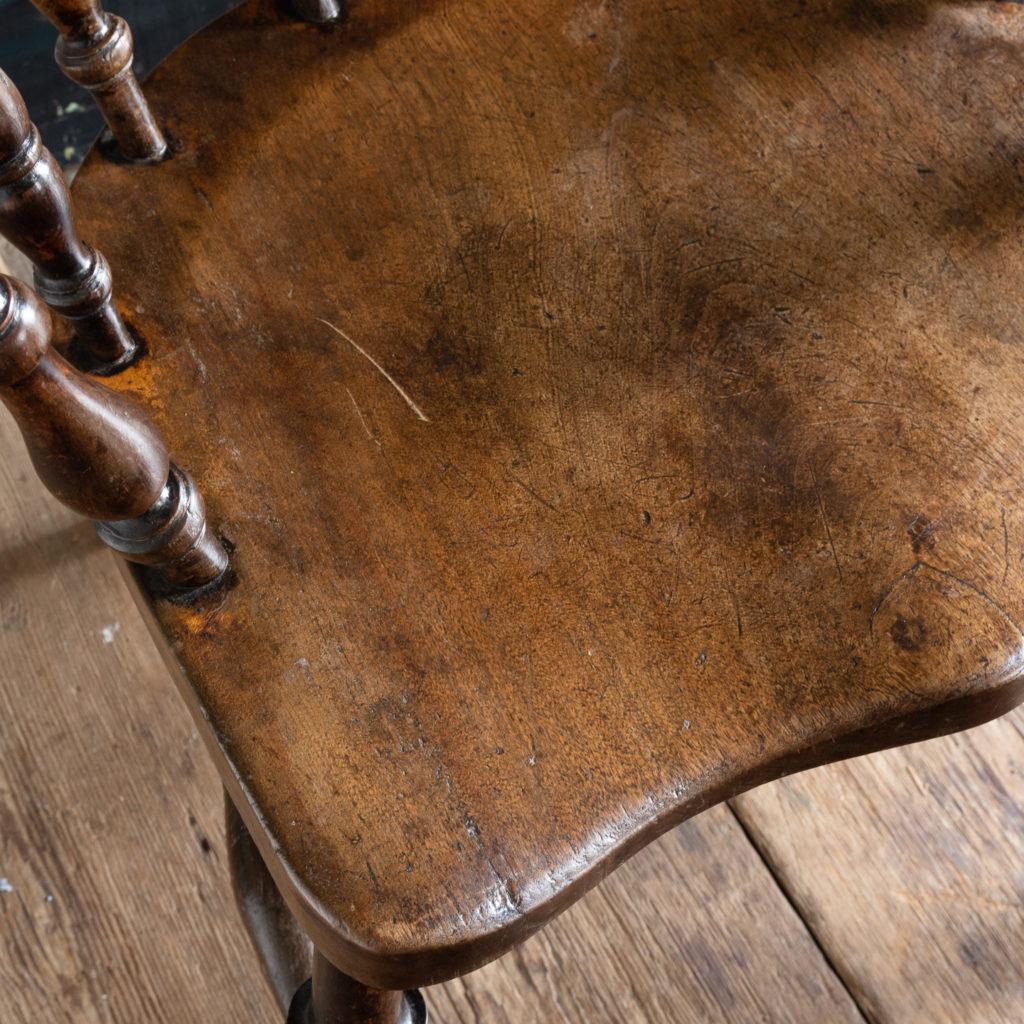 Smoker's Bow Windsor armchair,-115547