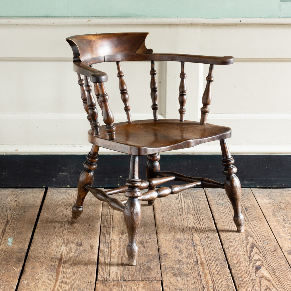 Smoker's Bow Windsor armchair,-115539