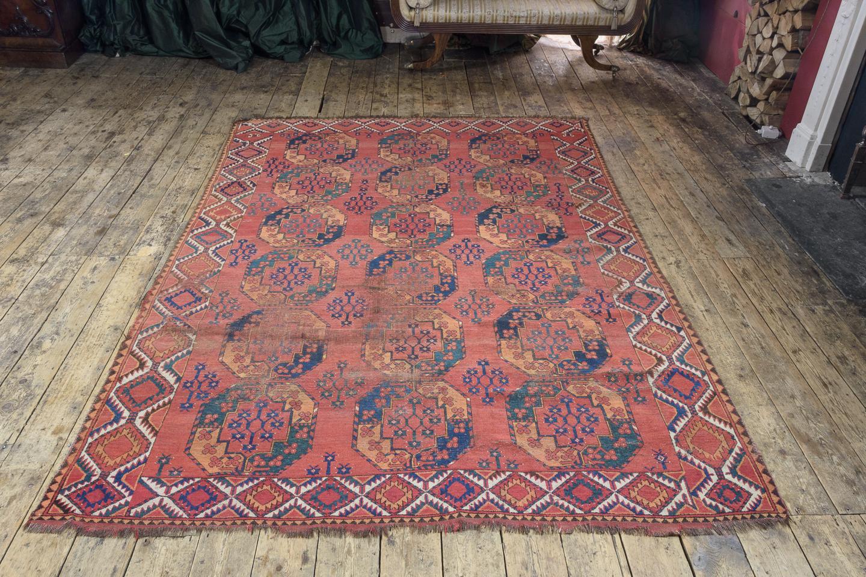 Turkomen Ensari carpet,-115633
