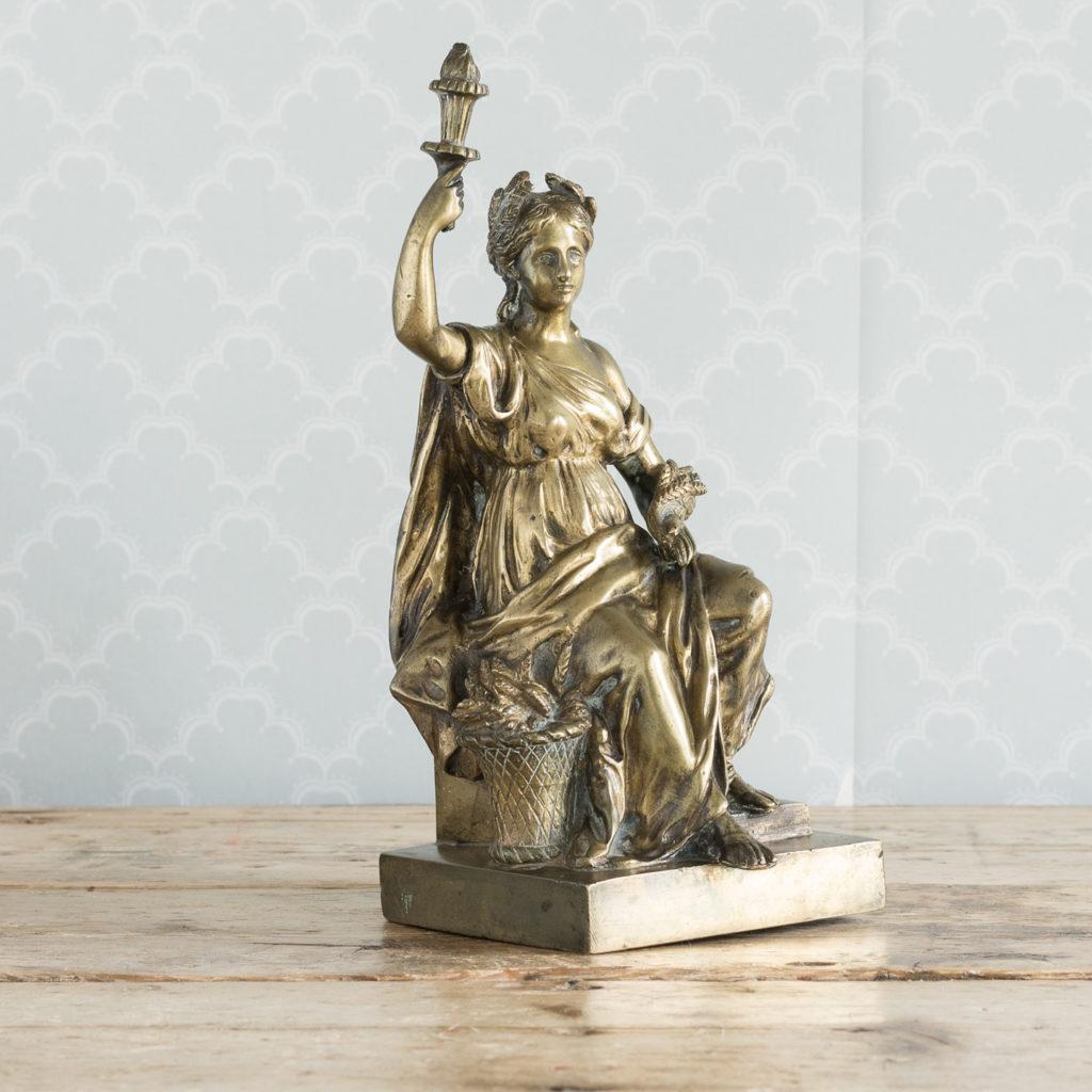 Gilt-bronze model of Ceres,-115893