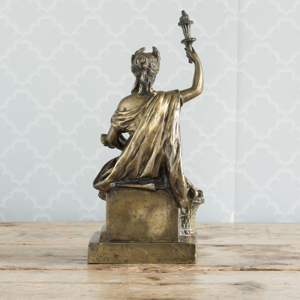 Gilt-bronze model of Ceres,-115902