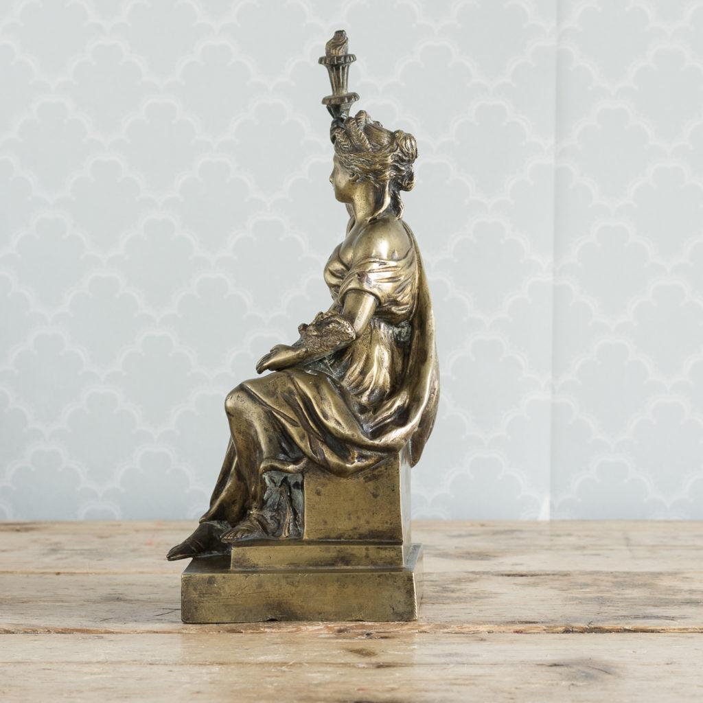 Gilt-bronze model of Ceres,-115901