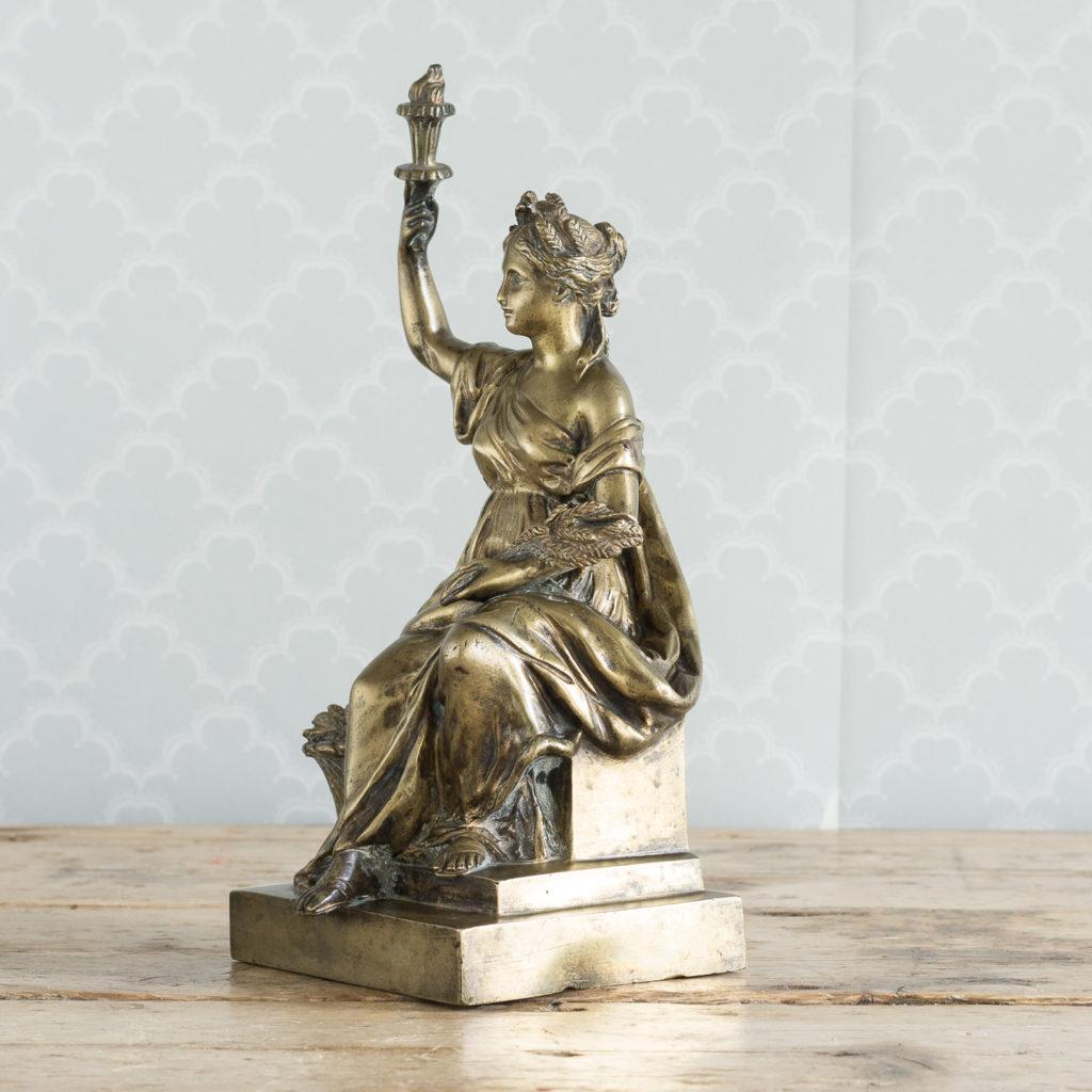 Gilt-bronze model of Ceres,-115899