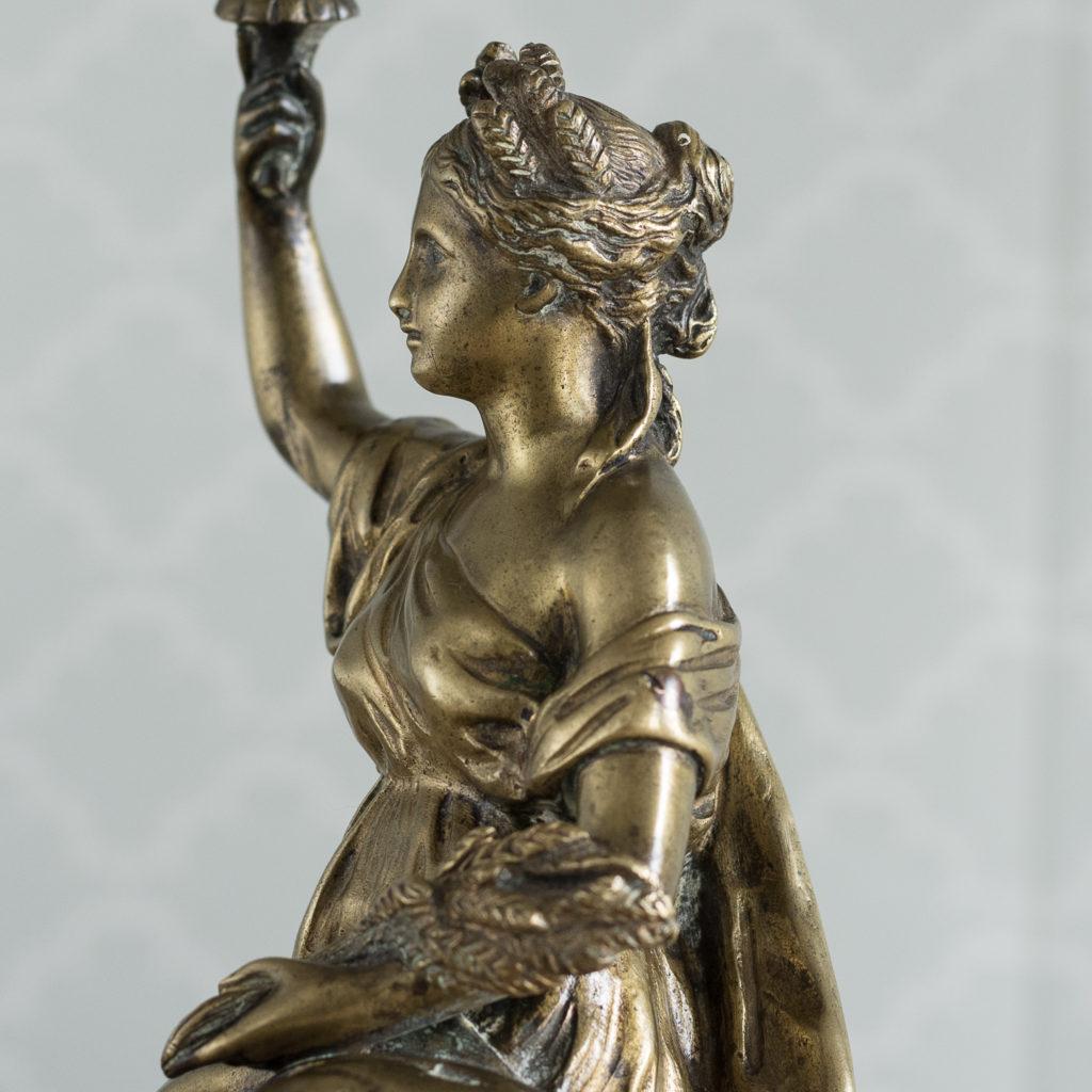 Gilt-bronze model of Ceres,-115903