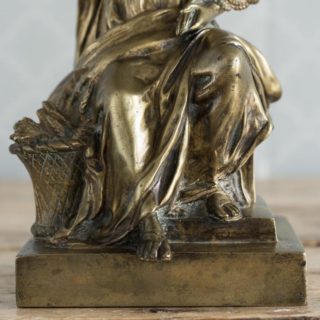 Gilt-bronze model of Ceres,-115895