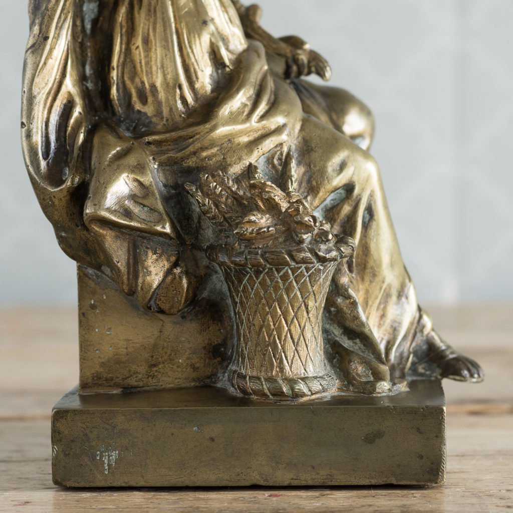 Gilt-bronze model of Ceres,-115892