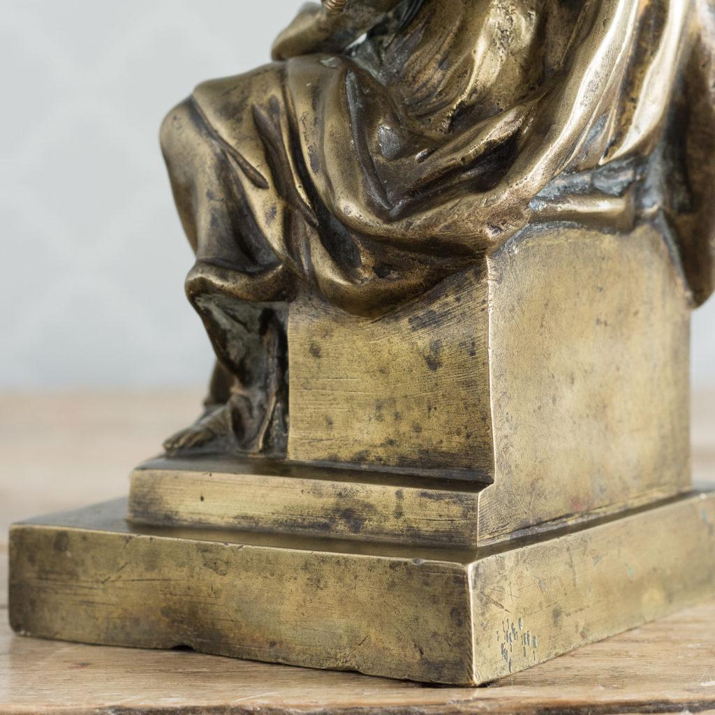 Gilt-bronze model of Ceres,-115904