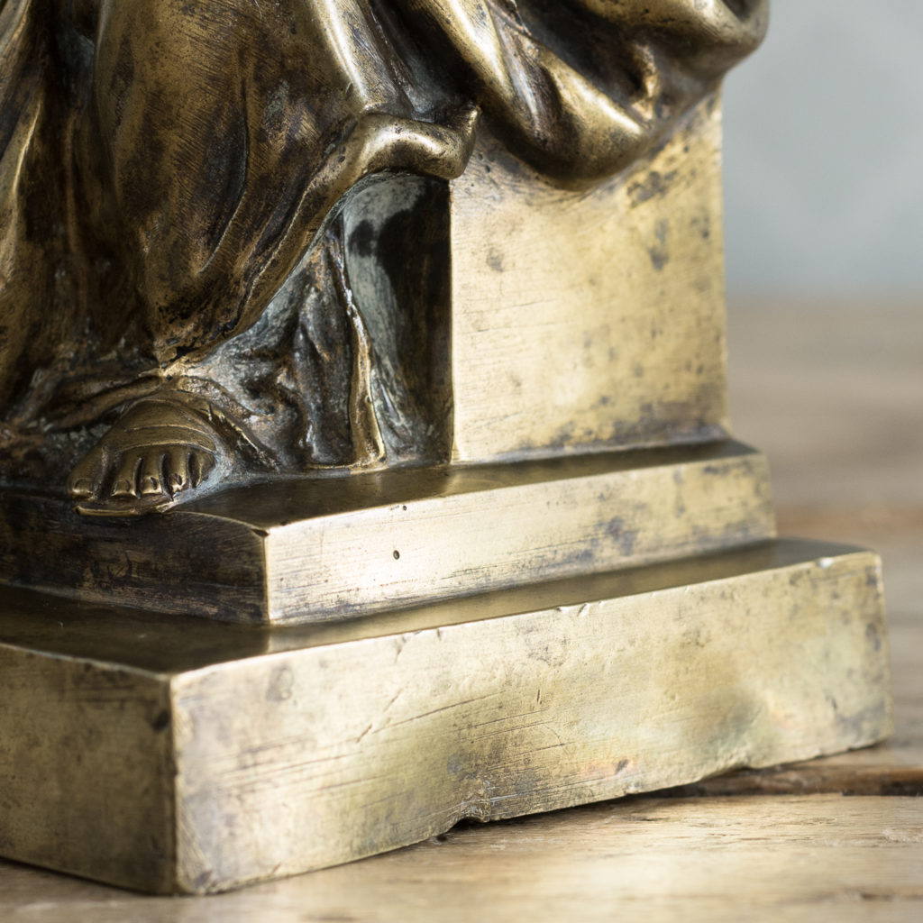 Gilt-bronze model of Ceres,-115894