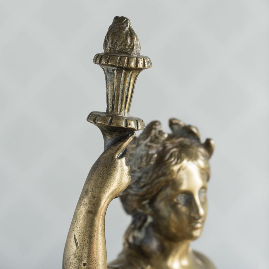 Gilt-bronze model of Ceres,-115891