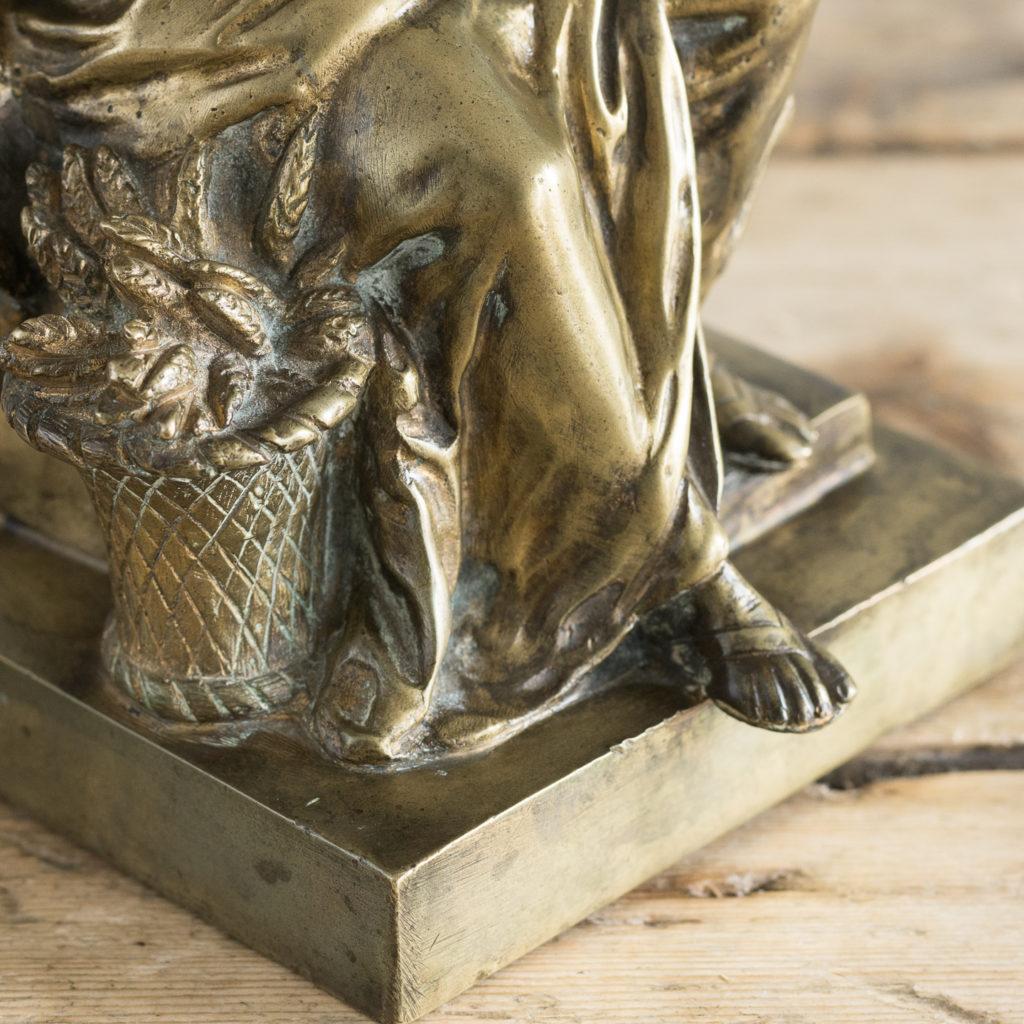 Gilt-bronze model of Ceres,-115896