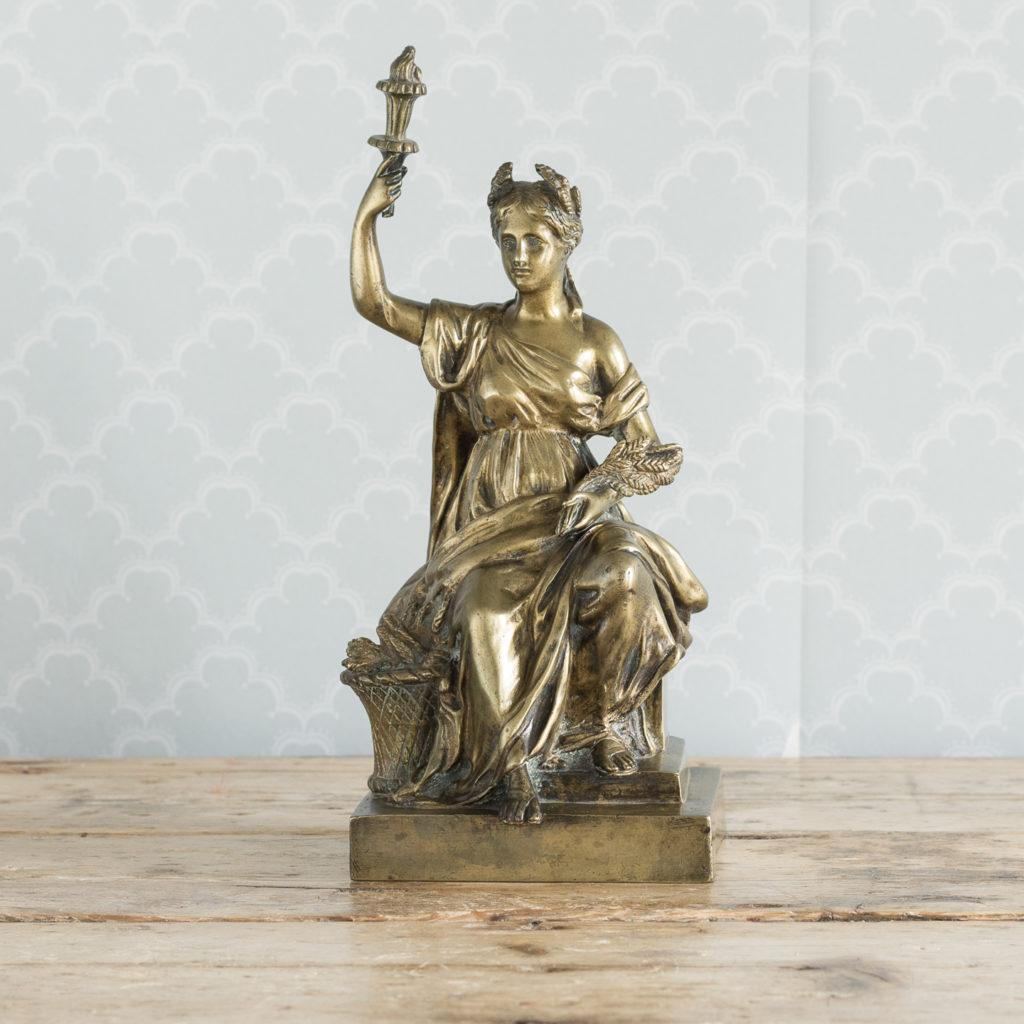 Gilt-bronze model of Ceres,-0