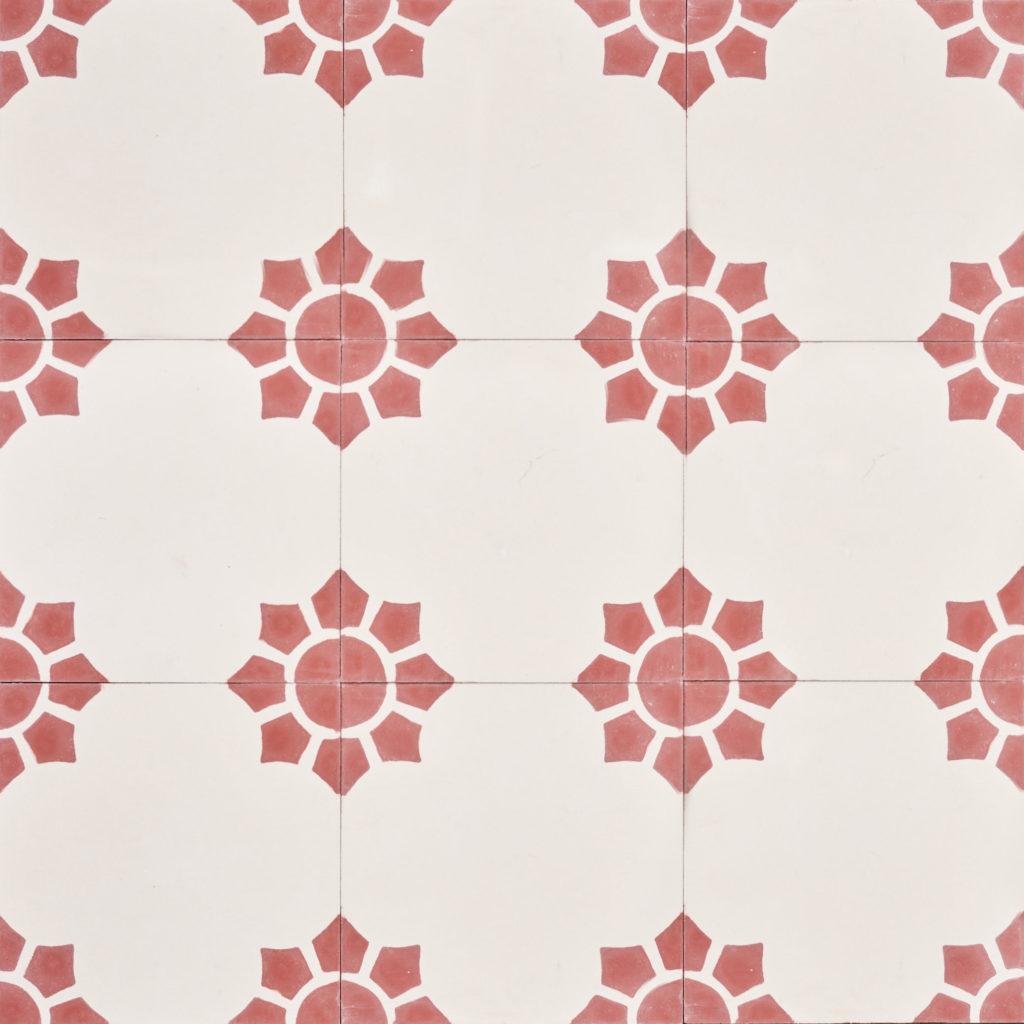 Encaustic Spanish tile,-0