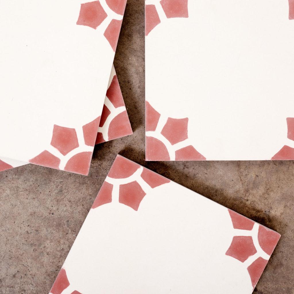 Encaustic Spanish tile,-116055