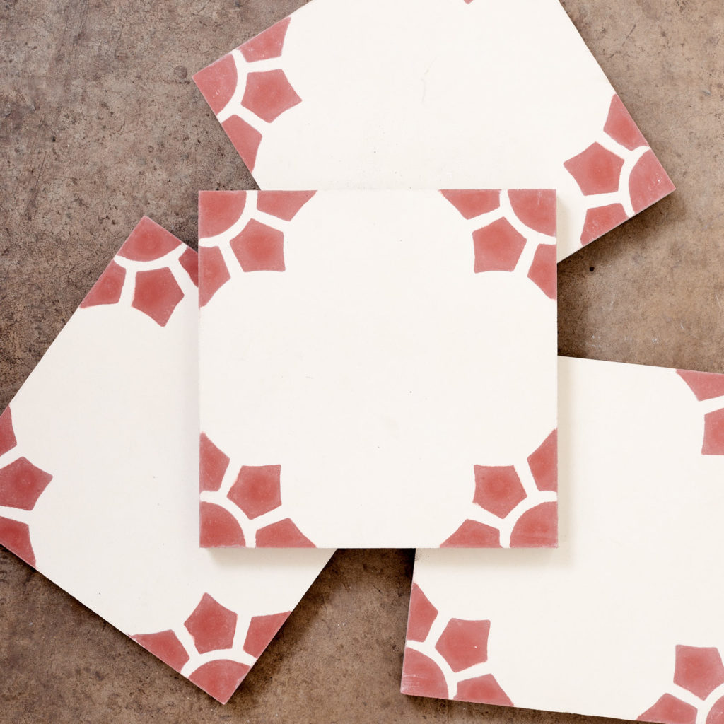 Encaustic Spanish tile,-116057