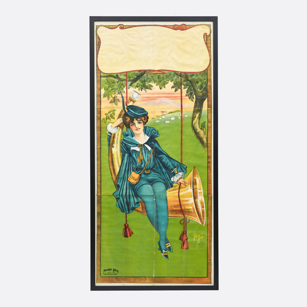 Little Boy Blue pantomime poster,-0