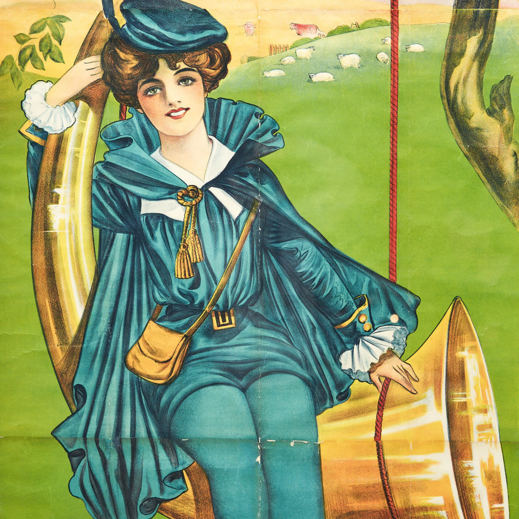 Little Boy Blue pantomime poster,-116417