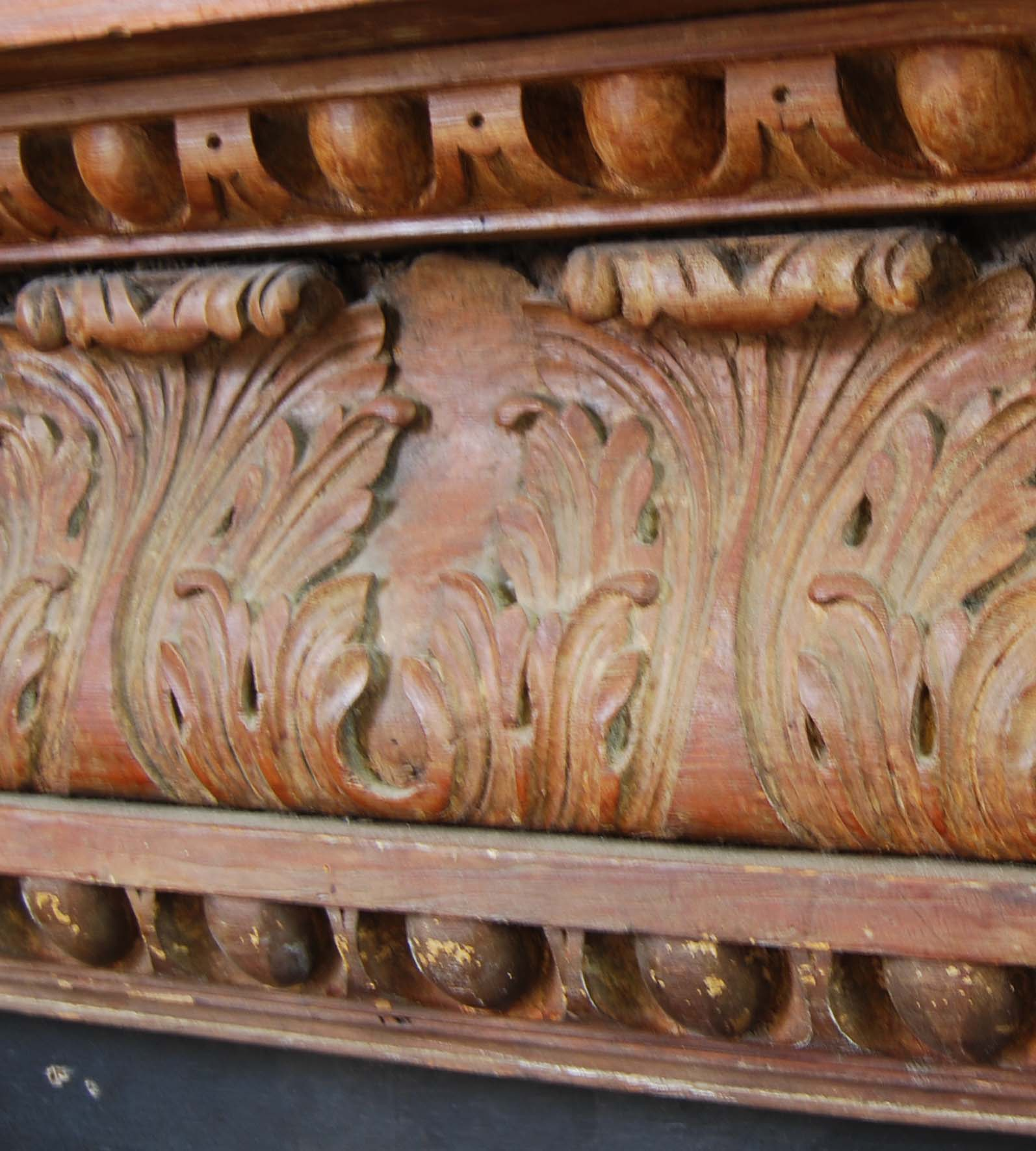 A carved pine chimneypiece in the Georgian taste-116599