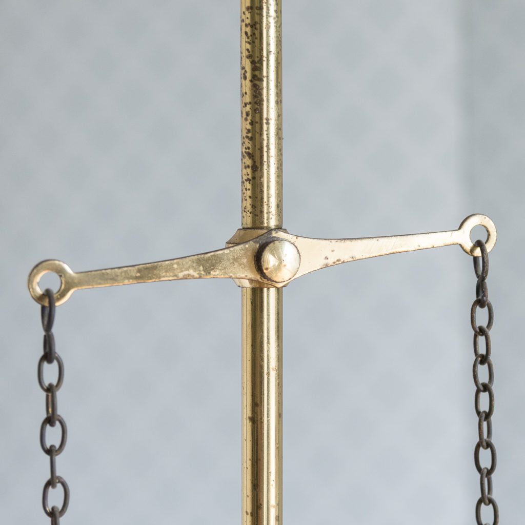 Mid-Victorian style 'gasolier' ceiling lights, -116822