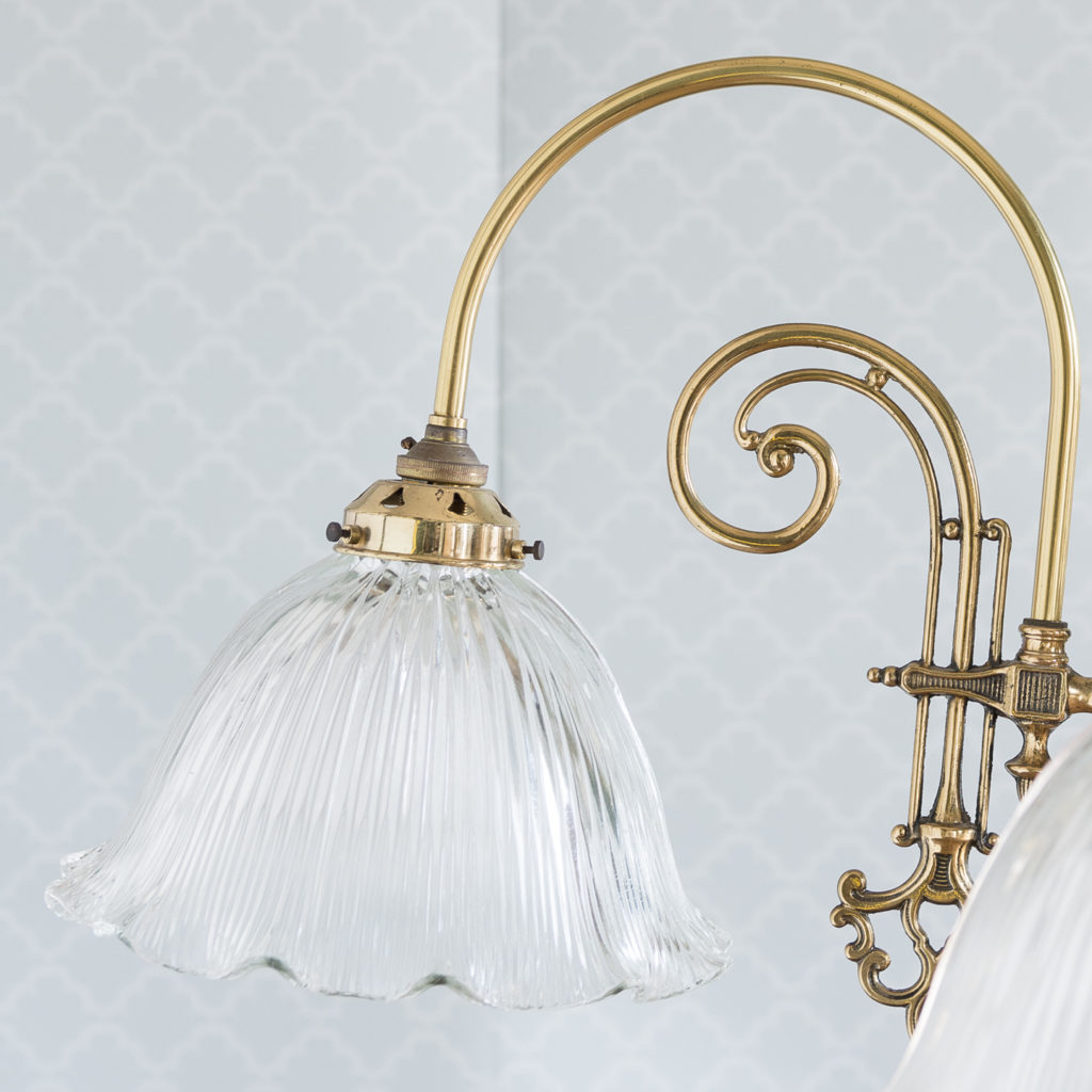 Mid-Victorian style 'gasolier' ceiling lights, -116821