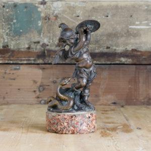 Nineteenth century bronze of the Heroic Putti,-0