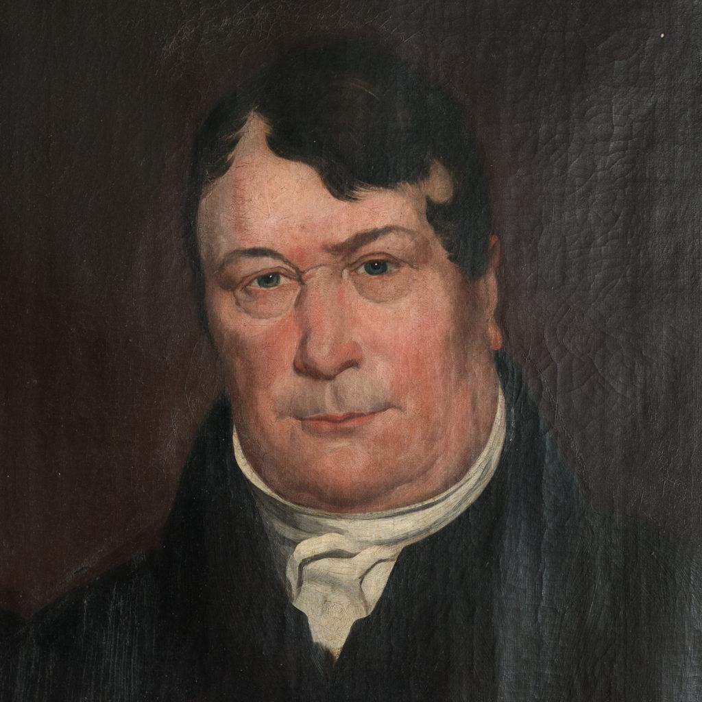 A portrait of a gentleman,-116659