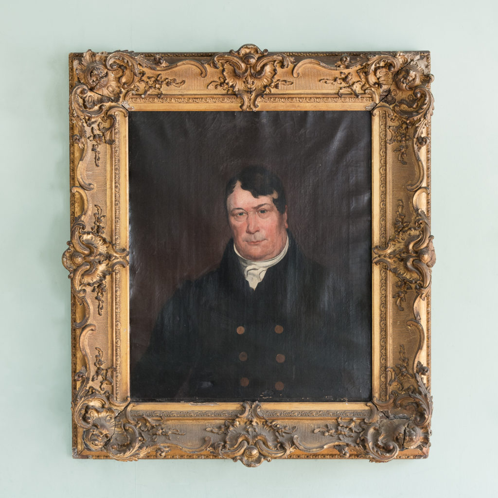 A portrait of a gentleman,-0