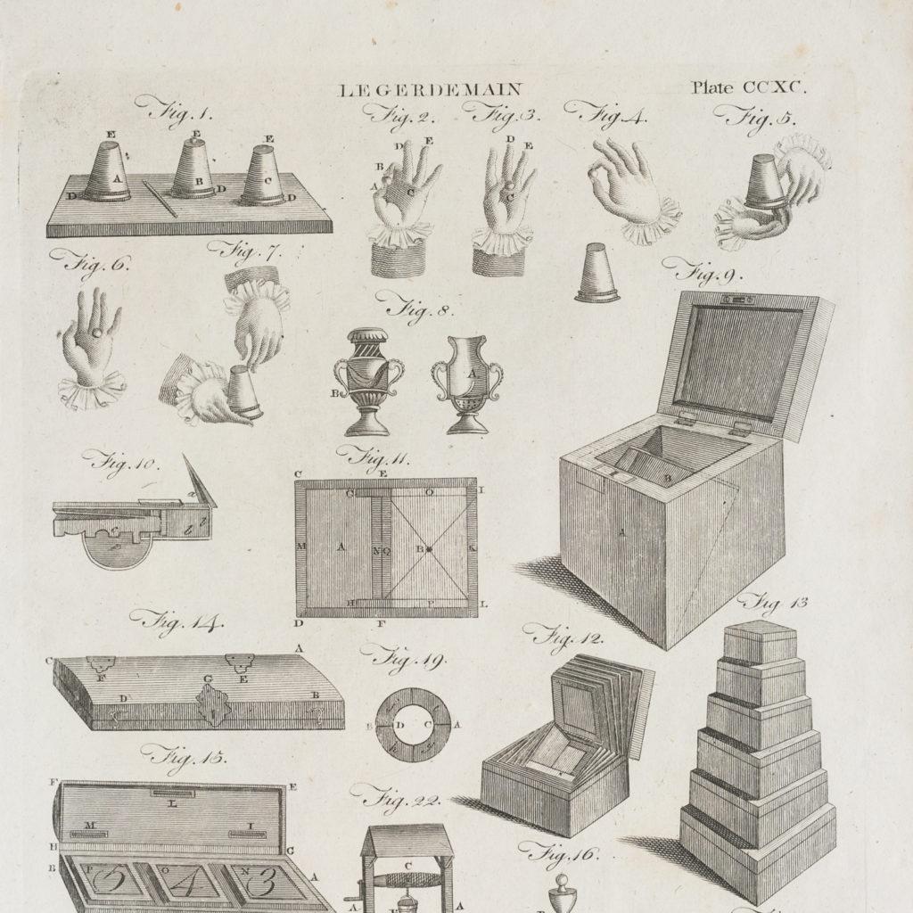 George III prints of legerdemain,-116318