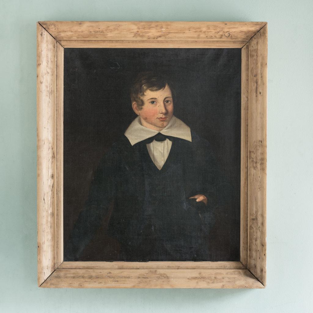 Portrait of a Schoolboy,-0