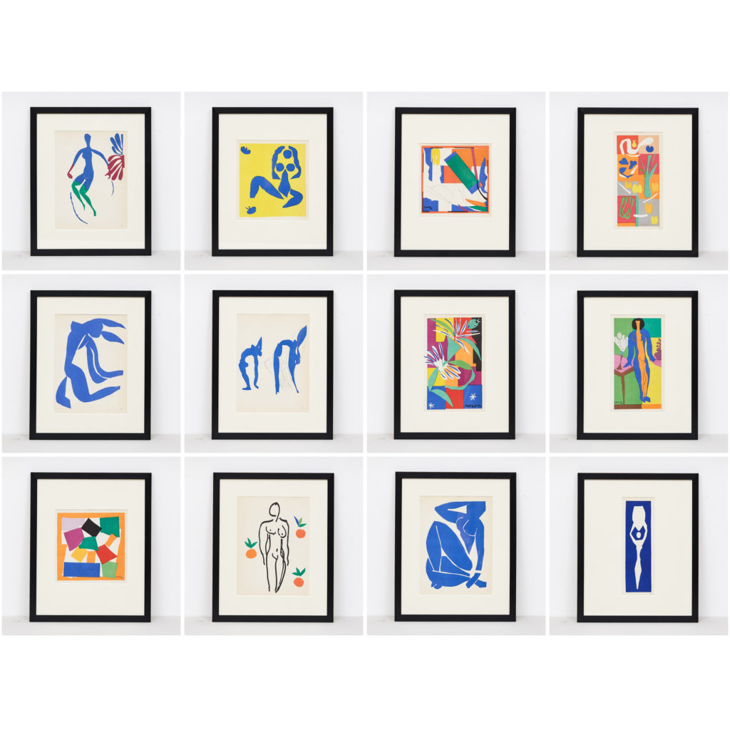 Matisse 'cut-out' Lithograph, -117614